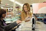 Lauren Conrad with fans at Kohl's.