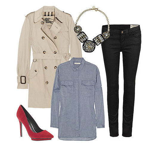 How to Wear a Trench Coat For Winter 2011