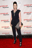 Michelle Trachtenberg joined her Gossip Girl cast mates in a chic black jumpsuit.