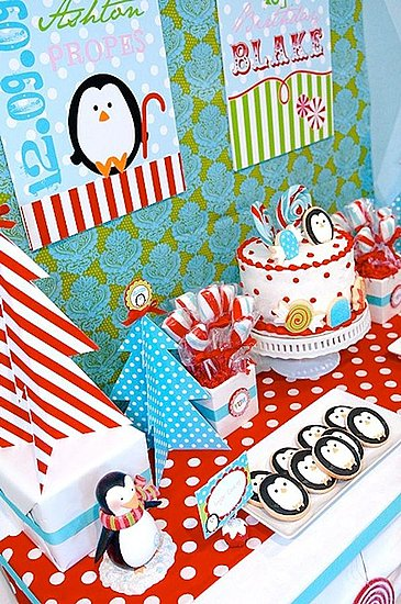 Winter Candyland Party Desserts