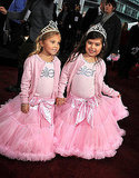 Youtube stars Sophia Grace Brownlee and Rosie Brownlee are cute little princesses.