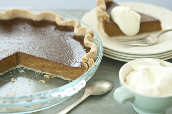 Top Pick: Pumpkin Pie With Pecan Crust