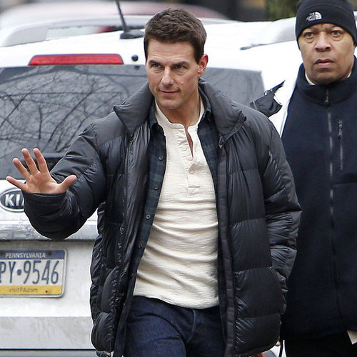 Tom Cruise on the Set of One Shot in Pittsburgh Pictures