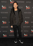 Alexander Wang swung by Lady Gaga's opening party for her Workshop at Barneys.