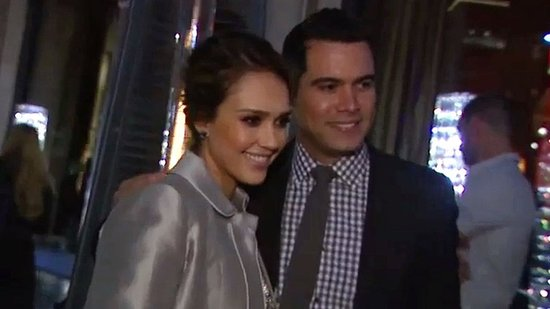 Video: Jessica Alba and Cash Warren's Date Night Ahead of the Holidays With Their Girls