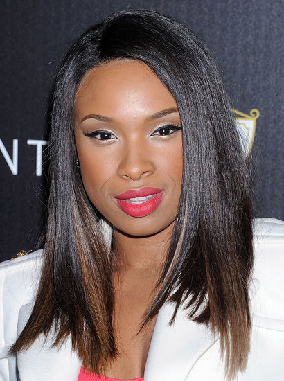 Jennifer Hudson walked the red carpet in LA.