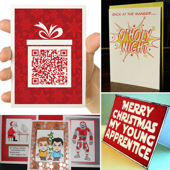 13 Geeky Handmade Cards to Send Holiday Cheer