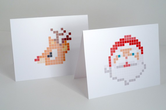 Pixel Note Cards ($21)