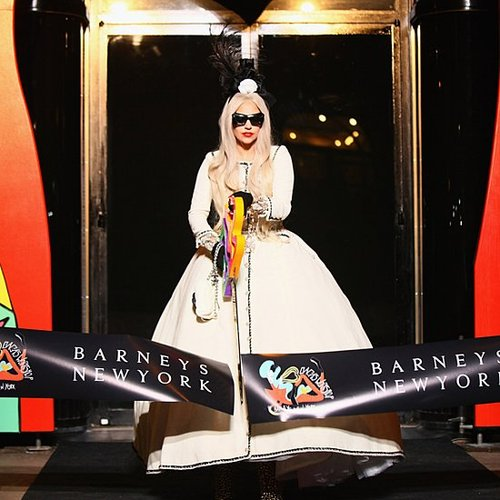 Lady Gaga's Workshop at Barneys New York