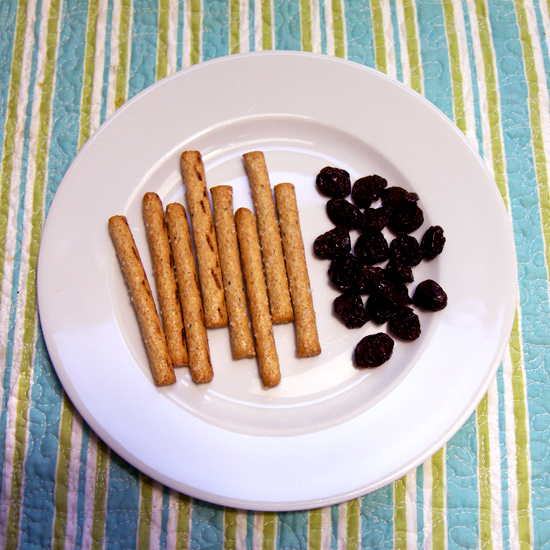 Pretzels With Dried Cherries