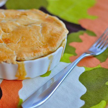 Leftovers Turkey Pot Pie Recipe