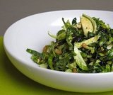 What to Make: Brussels Sprouts and Kale Salad