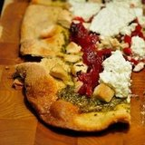Turkey, Cranberry, &amp; Pesto Pizza