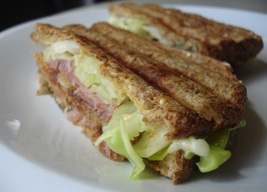 What to Make: Ham and Cabbage Reuben