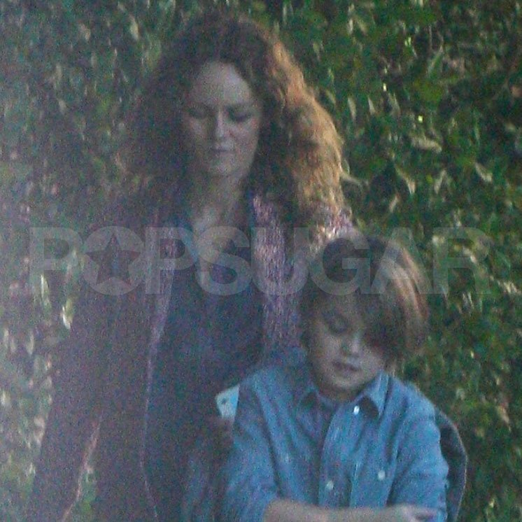 Vanessa Paradis in LA with Jack Depp.