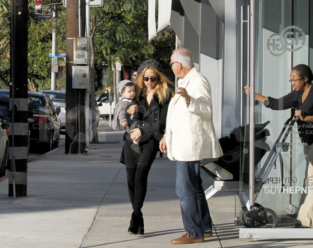 Rachel Zoe, Skyler Berman, and Ron Rosenzweig spent the day together.