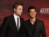 Robert Pattinson and Taylor Lautner