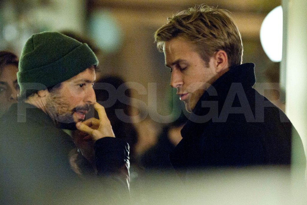 Ryan Gosling Heads to Paris to Visit Eva Mendes on Set