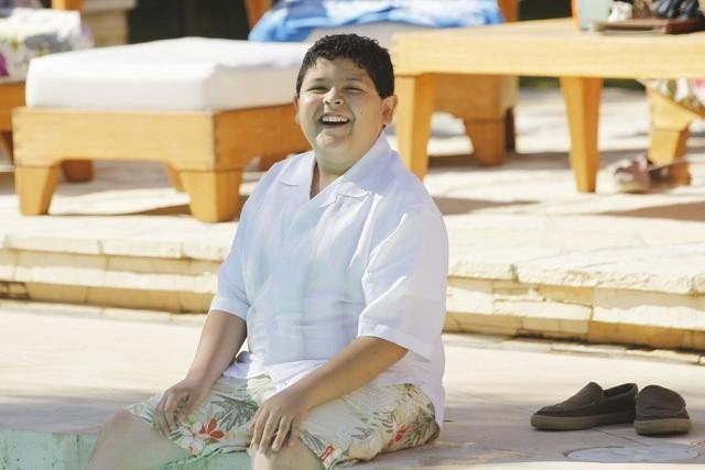 Rico Rodriguez as Manny on Modern Family.  Photo copyright 2011 ABC, Inc.