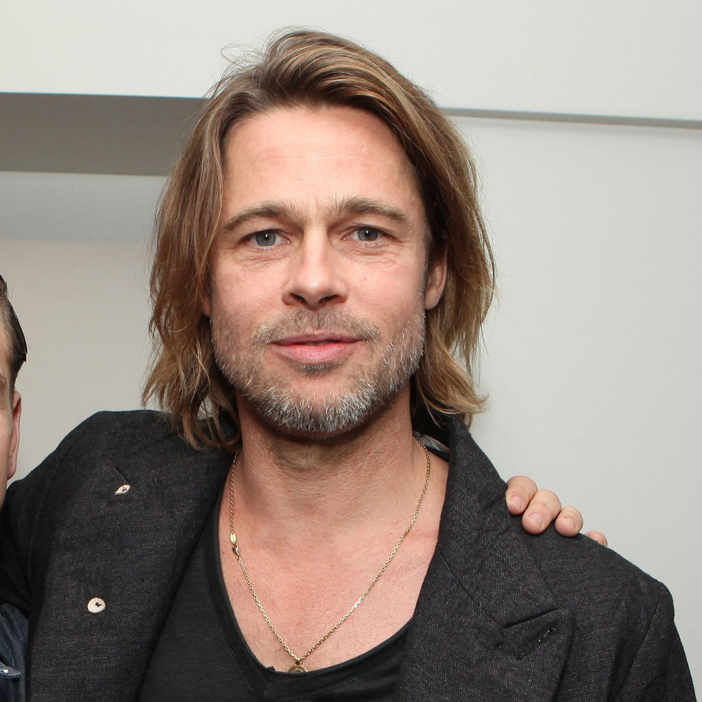 Brad Pitt at a Columbia Pictures Moneyball screening at the Cary Grant Theatre at Sony Pictures Studios on Sunday.