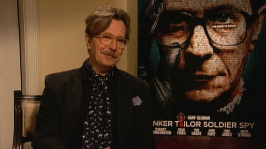 Gary Oldman Talks Transitioning Between Tinker Tailor Soldier Spy and The Dark Knight Rises