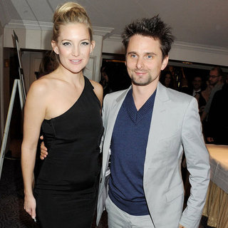 Kate Hudson and Matthew Bellamy at British Fashion Awards