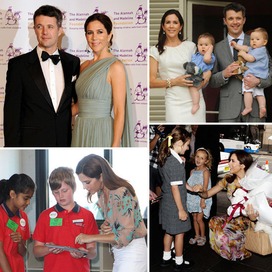 Princess Mary and Prince Frederik of Denmark Pictures in Australia During Danish Royal Tour 2011