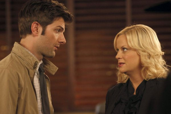 Happiest Reunion: Leslie and Ben on Parks and Recreation