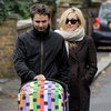 Kate Hudson and Matthew Bellamy Walking With Bing Pictures