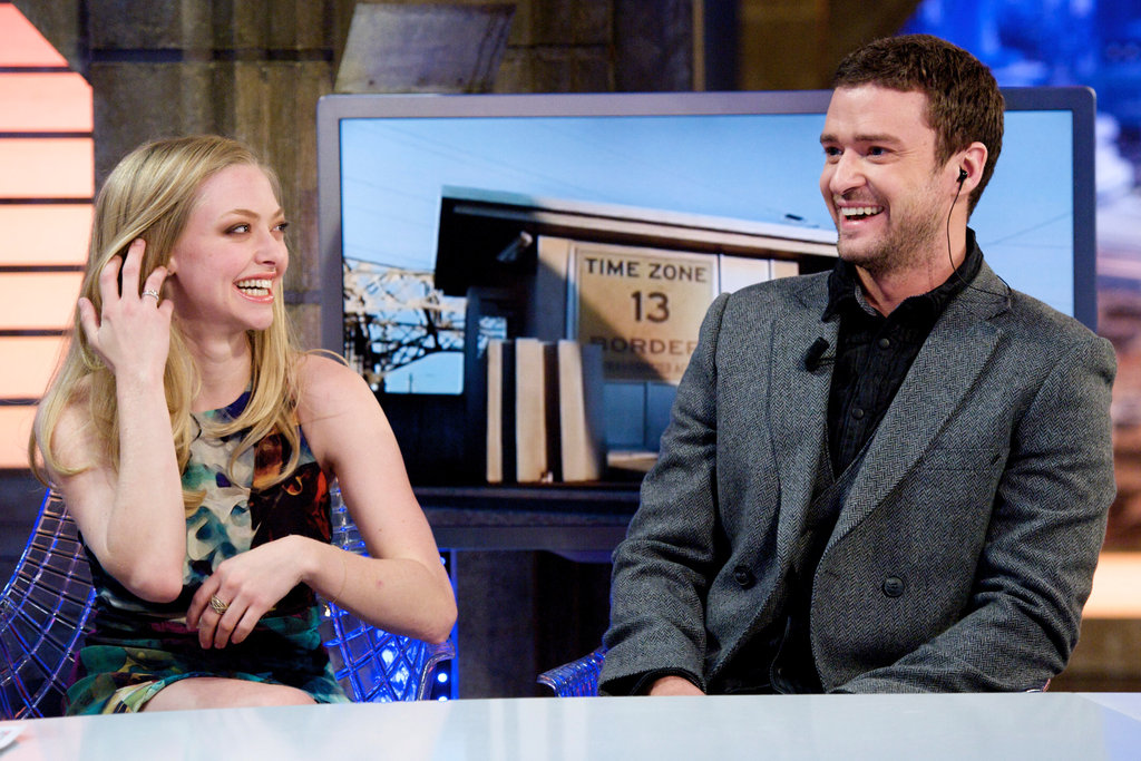 Justin Timberlake and Amanda Seyfried enjoyed their appearance on a Spanish talk show.