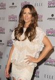 Kate Beckinsale was on hand for the Independent Spirit Awards nominations press conference.