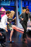 Justin Timberlake and Amanda Seyfried danced together on a Spanish TV show.