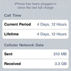 How to Check Your iPhone's Data Usage