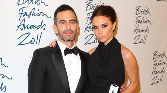 Victoria Beckham Wins the Designer Brand Award and Poses With Marc Jacobs!
