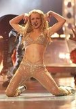 Britney Spears got super sexy at the 2000 MTV Video Music Awards in NYC.