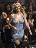 Britney Spears got glam at the MTV Video Music Awards in 2008.