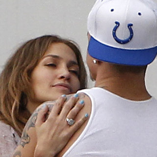 Jennifer Lopez and Casper Smart LA Kissing Pictures