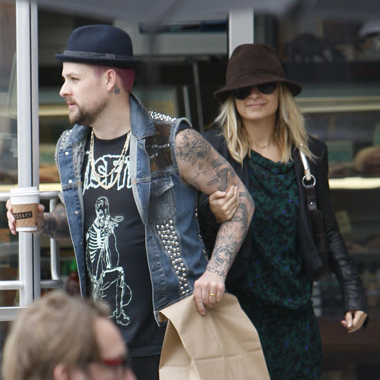 Nicole Richie and Joel Madden Buying Meat in LA Pictures