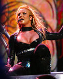 Britney Spears wore a super sexy costume during her Onyx Hotel Tour in 2004.