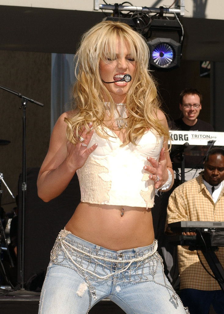 She got into the song when she performed for On Air With Ryan Seacrest in February 2004.