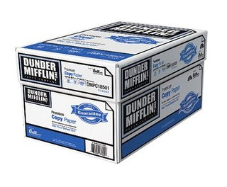 Staples Sells Dunder Mifflin Paper