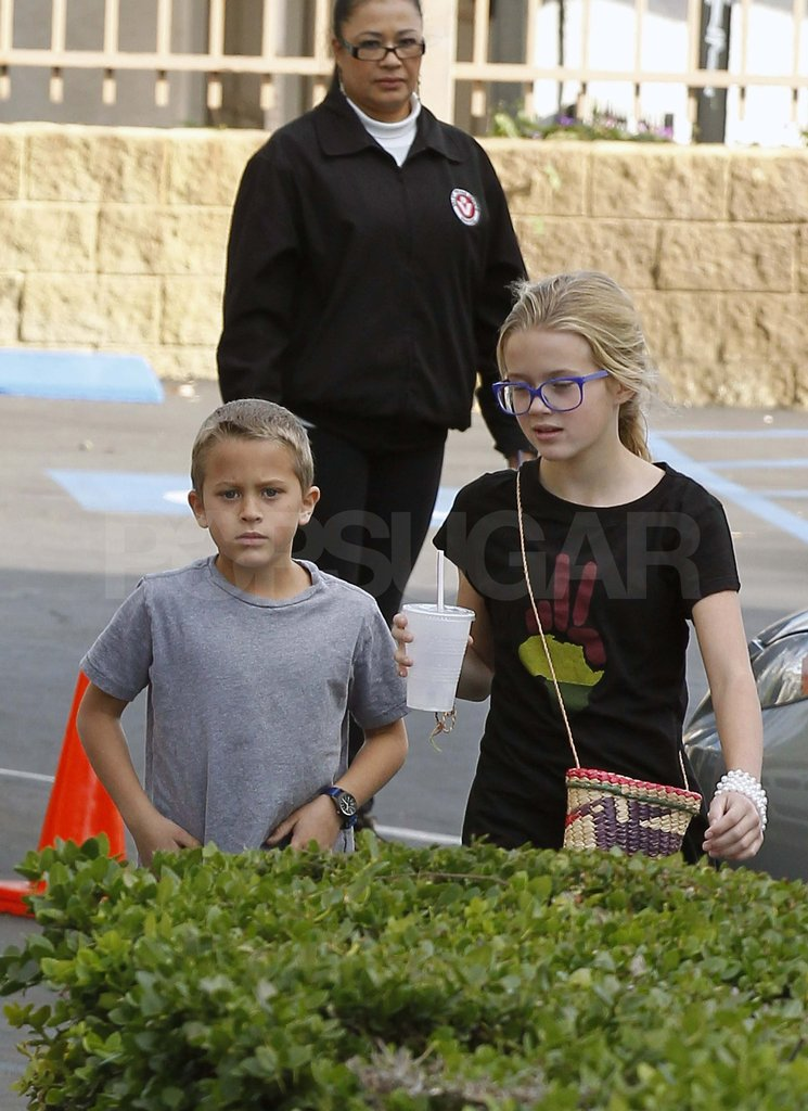 Ava and Deacon Phillippe in LA.