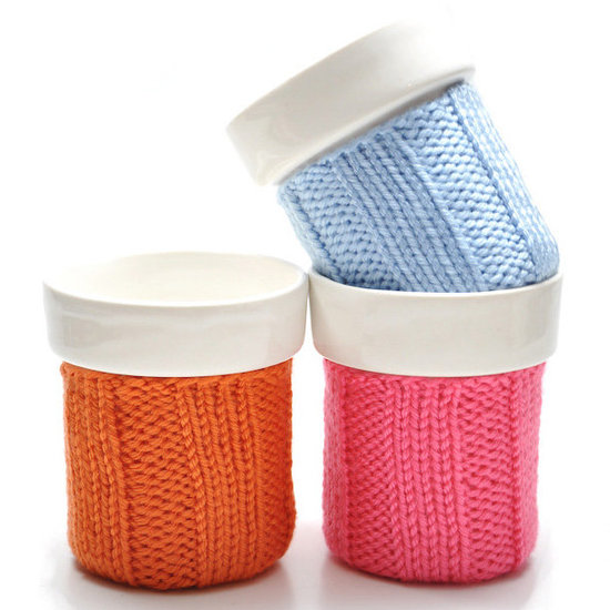 Knit Cozy Color Mugs