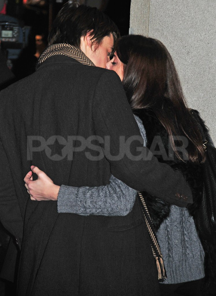 Ashley Greene and Reeve Carney kissed in NYC.