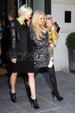 Jessica Simpson with Ashlee and Bronx Wentz in NYC.