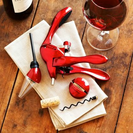 Rabbit Corkscrew and Aerator Gift Set