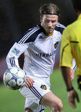 David Beckham took the field against the Indonesia Selection team on Nov. 30.