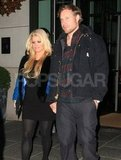 Jessica Simpson and Eric Johnson were happy together on a date night.
