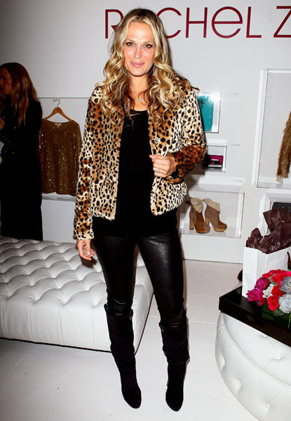 Rachel Zoe and Molly Sims Get Into the Holiday Spirit Together