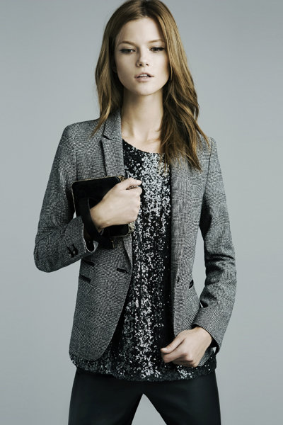 Checked Blazer ($90)